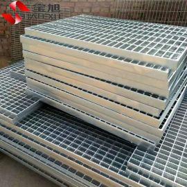 钢格板厂家供应平台踏步排水沟盖  定做异形热镀锌钢格板价格低