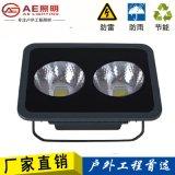 AE照明led泛光燈100W投光燈大功率led廣告燈 2芯片100W正白光