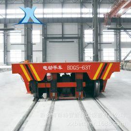玻璃廠耐高溫防爆低壓軌道供電式電動平板車 性價比高 現貨直銷