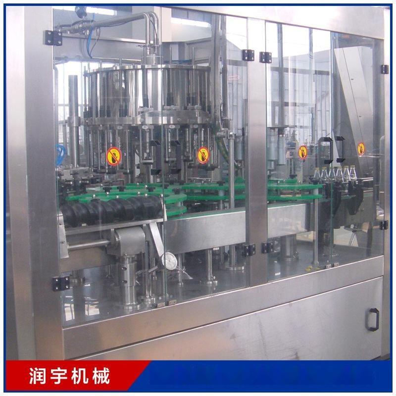润宇机械厂家定制加工灌装机 24头灌装设备生产线 果汁灌装机