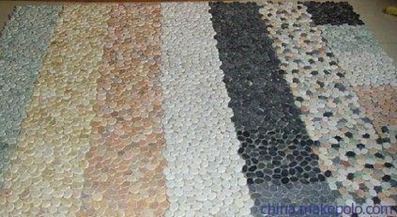 上海桓石胶粘石地坪系统透水胶粘石路面厂家16种天然彩石彩色胶粘石地坪艺术胶粘石
