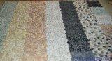 上海桓石膠粘石地坪系統透水膠粘石路面廠家16種天然彩石彩色膠粘石地坪藝術膠粘石