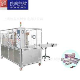 三维自动透明膜包装机行情全自动 烟包机 外盒包膜机厂家价格