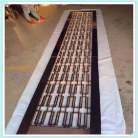 供应不锈钢简易屏风不鏽鋼屏風加工厂家欧美流行款式