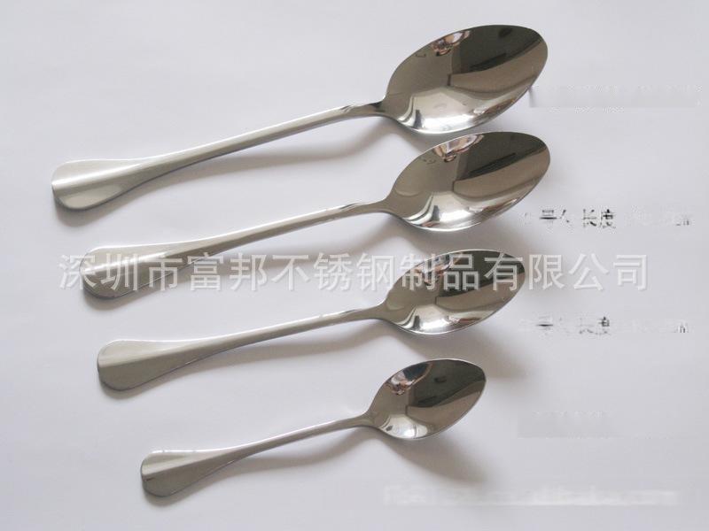 厂价直销不锈钢汤勺 饭勺 汤匙 儿童小勺   勺子