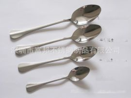 廠價直銷不鏽鋼湯勺 飯勺 湯匙 兒童小勺 高檔勺子