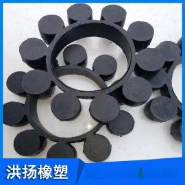 橡胶梅花垫 联轴器缓冲垫 减震用橡胶梅花垫