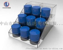 亚克力精油展示架面膜陈列架商品收纳盒置物架收纳架