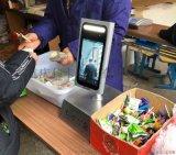 贵州食堂人脸售饭机分体动态人脸识别消费机
