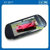汽车车载显示器厂家批发 两路视频切换 7寸车载后视镜显示器