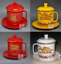 高品质红瓷茶杯