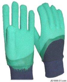 结实耐用浸胶手套