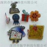 深圳振華專業製作鋁印刷滴膠徽章