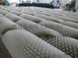 毛刷廠家供應尼龍絲毛刷輥 劍麻絲毛刷輥 工業清洗機毛刷輥 加工定製各種毛刷輥
