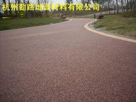 杭州勤路彩色路面|压模地坪