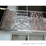 不锈钢激光屏风 不锈钢阳台屏风 酒店彩色装饰屏风