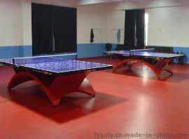 乒乓球专业运动地板 布纹 羽毛球幼儿园健身房地专用运动地胶 PVC运动地板 乒乓球场地运动地板 羽毛球场地运动地板