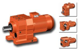 WRF167斜齿轮同轴式减速电机