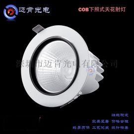 江門廠家直銷22Wled大功率射燈下照式COB天花射燈MKRM23R