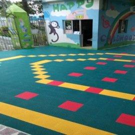 蓬溪遂宁幼儿园拼装地板18398107502室内外悬浮拼装运动地板篮球网球羽毛球轮滑场地板
