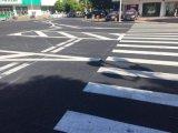 珠海三灶唐人街道路标线工程完工