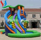 PVC气膜布、充气玩具布、蹦床布(图)