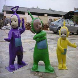 玻璃钢雕塑 天线宝宝 卡通玩偶 玻璃钢动漫人物天线宝宝定制