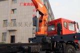 11吨汽车随车吊车4节液压吊臂8边形三一18吨自吊车