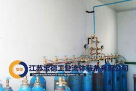 宝德直销气体汇流排, 氧气汇流排装置可靠安全价格公道