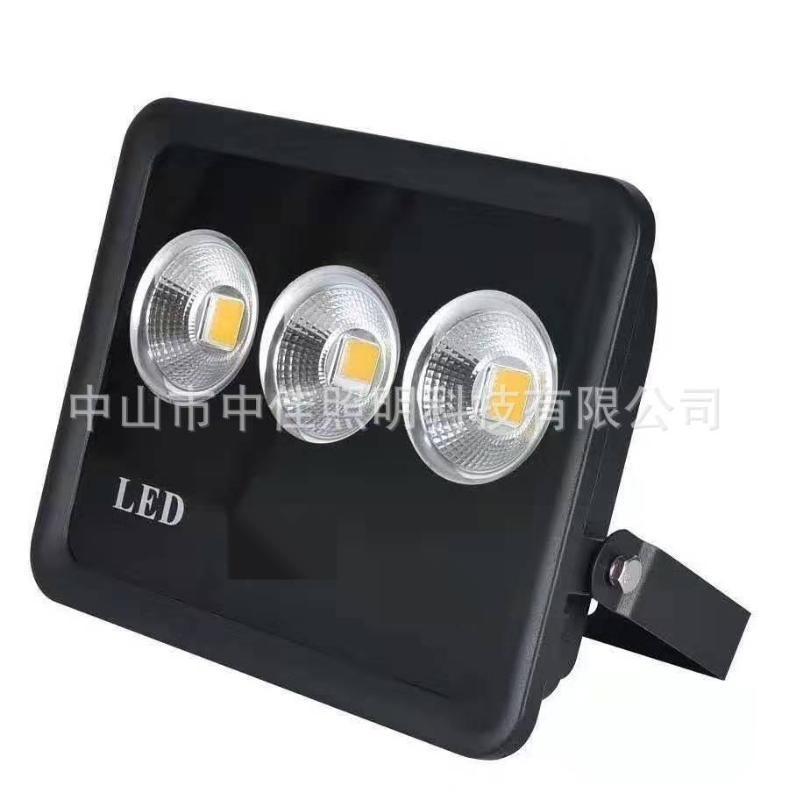 led金鑽投光燈外殼 200W集成聚光反光杯45°壓鑄一體投光燈外殼