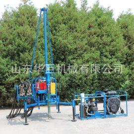 山地钻机 人抬轻便山地勘探钻机分体式 小型石油物探山地气动钻机