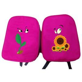小学生书包定制印logo男女童幼儿园书包可印字批发辅导班广告礼品