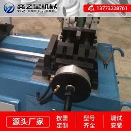 半自动全自动加工小型管材切割机简易方管圆管切管机