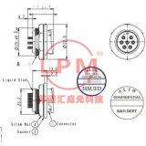 苏州汇成元供应 Amphenol(安费诺) ADC-06RMMS-LC7001 替代品防水线束