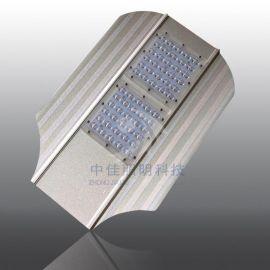 新款led模組路燈頭外殼 型材平板路燈批發 60W小航母燈頭外殼