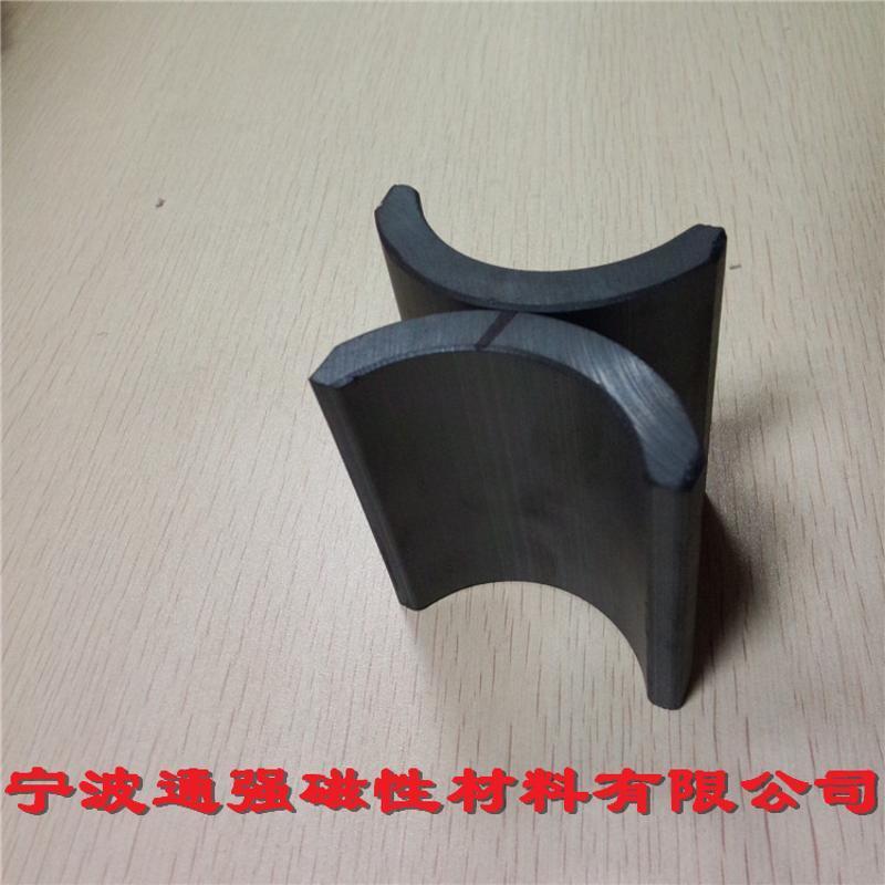 专业生产各类电机磁瓦,Y30高性能铁氧体磁钢。油泵磁瓦 马步磁