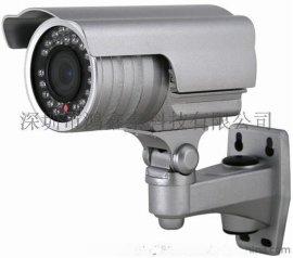 专业生产平安城市改造专用双电源监控摄像机,AC/DC兼容型红外调焦一体化摄像机