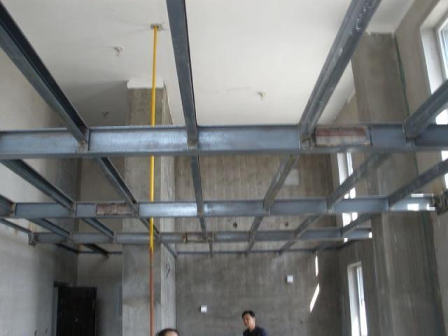 松岗燕川钢结构阁楼安装制作,松岗室内外钢结构工程装修