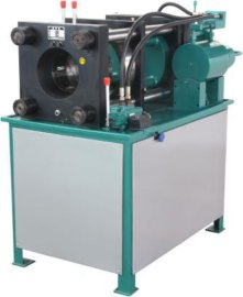 高压油管专用缩管机,高压油管扣管机,油管压管机