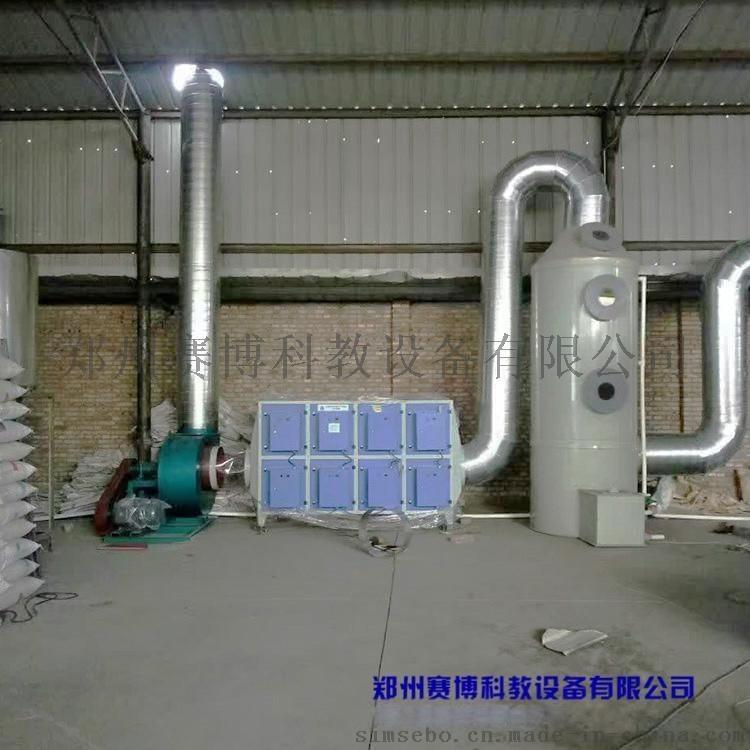 河南鄭州賽博實驗室廢氣處理裝置