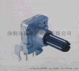 厂家直销EC16编码器,塑胶轴360度.旋转编码器,增量式编码器 (2)