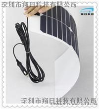 深圳厂家供应18V20W柔性太阳能电池板户外山区房车12V蓄电池供电光伏发电组件