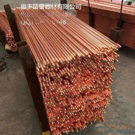惠丰铜包钢接地棒 镀铜钢接地极厂家大量有货  随时发货哦