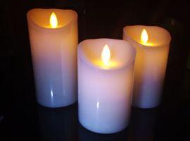 酒店客房装饰用品摇摆蜡烛灯 LED摇摆蜡烛 塑料电子蜡烛