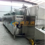 泰州 隧道帶式海產品烘乾機 ED10噸小河蝦烘幹線