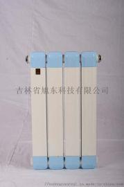 GZ406钢四柱暖气片 旭冬暖气片 钢柱型散热器