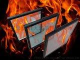 山东济南水晶硅复合防火玻璃
