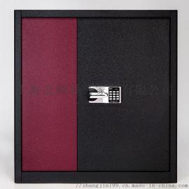上金指纹密码锁档案柜资料柜矮柜电子密码锁文件柜皮纹