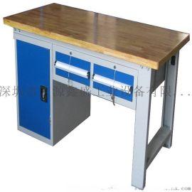 重型榉木台面工作台,榉木桌面钳工台