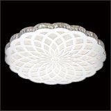 現代簡約圓形吸頂燈溫馨客廳臥室水晶吸頂燈led水晶無極調光燈